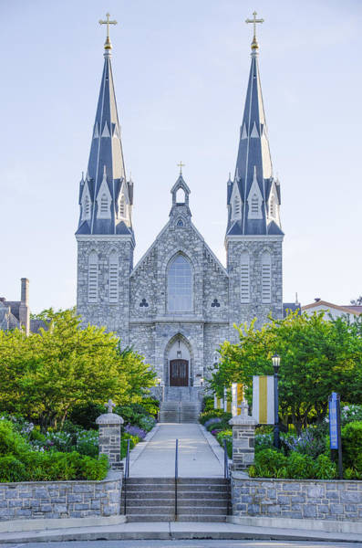 Wall Art - Photograph - Beautiful Villanova Cathedral by Bill Cannon