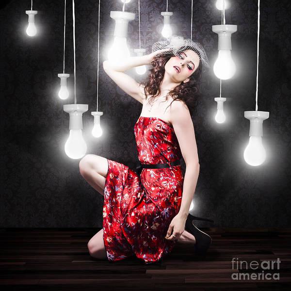 Photograph - Beautiful Vogue Style Woman. Fashion Art Portrait by Jorgo Photography - Wall Art Gallery