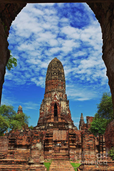 Photograph - Beautiful Wat Phra Ram Temple In Ayutthaya, Thailand  by Sam Antonio Photography