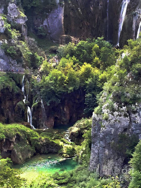Photograph - Beautiful Waterfalls In Croatia by Doc Braham