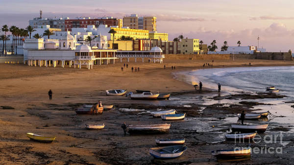 Photograph - Beautiful Winter Day At La Caleta Beach Cadiz Spain by Pablo Avanzini