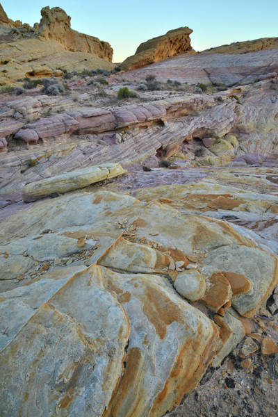 Photograph - Beautifully Colored Sandstone In Valley Of Fire by Ray Mathis