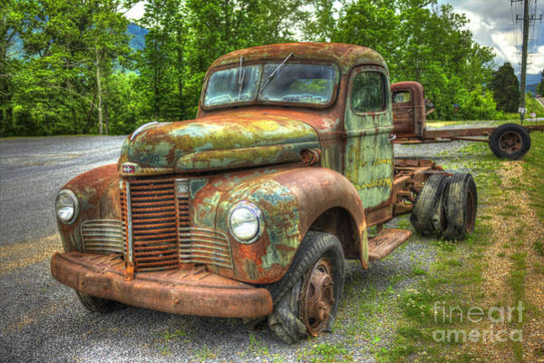 Beauty And The Best 1947 International Harvester Kb 5 Truck Art Print