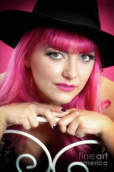 Runway Model Photograph - Beauty In Pink 4 by Bob Christopher