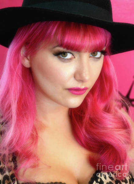 Runway Model Photograph - Beauty In Pink by Bob Christopher