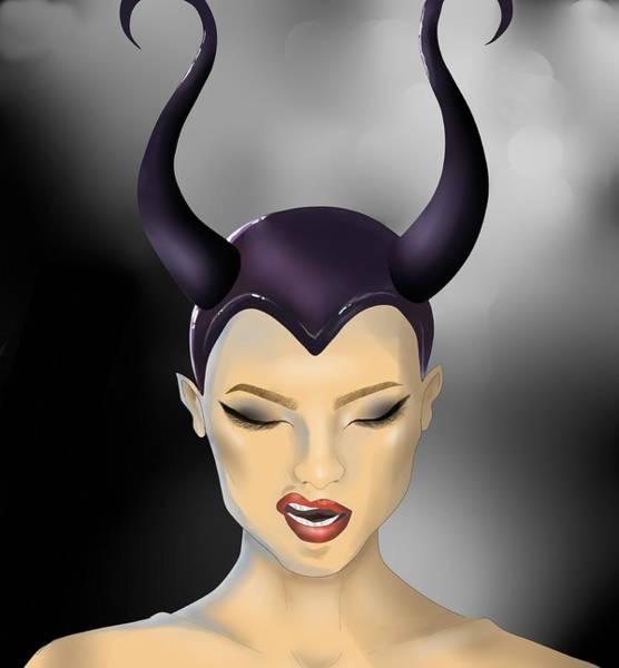 Maleficent Digital Art - Beauty by Lungu Larisa