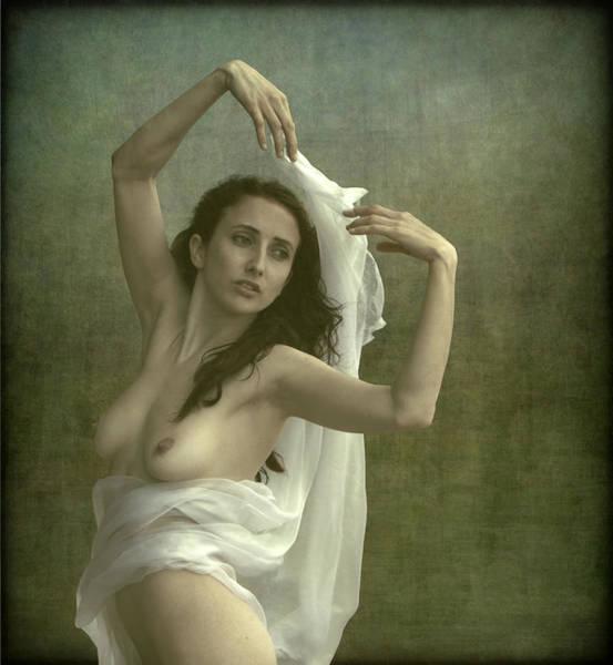 Fabric Photograph - Beauty by Mel Brackstone