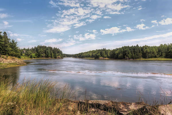 Photograph - Beauty Of Maine by John M Bailey