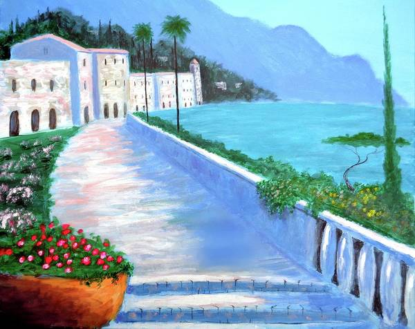 Painting - Beauty Of The Riviera by Larry Cirigliano