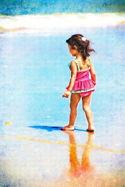 Photograph - Beauty On The Beach by Alice Gipson