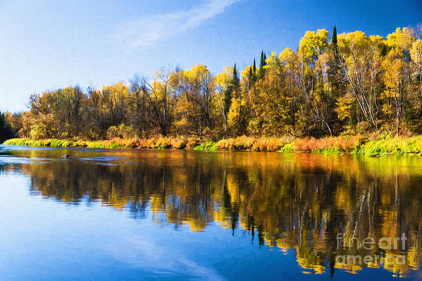 Photograph - Beauty On The Big Fork by Lori Dobbs