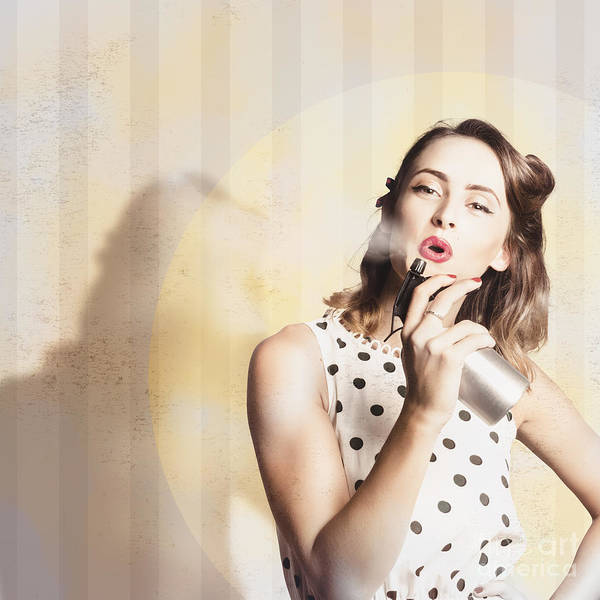 Hairstyle Photograph - Beauty Parlour Pinup by Jorgo Photography - Wall Art Gallery