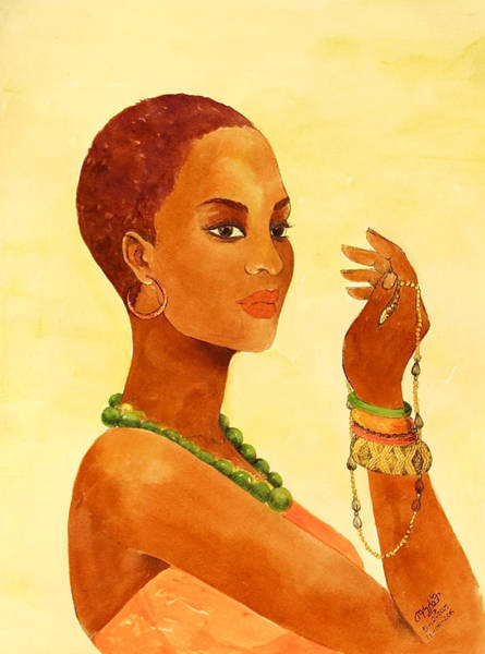 Painting - Beauty Stance by Mahlet