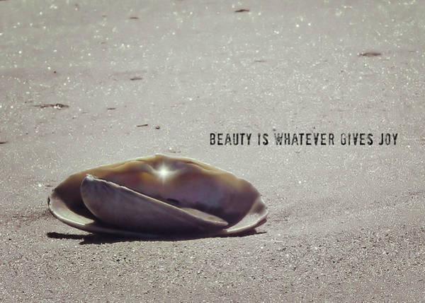 Photograph - Beauty Star Quote by JAMART Photography