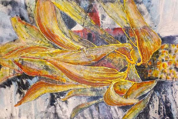 Husk Painting - Beauty Within The Ordinary by Carolyn Rosenberger