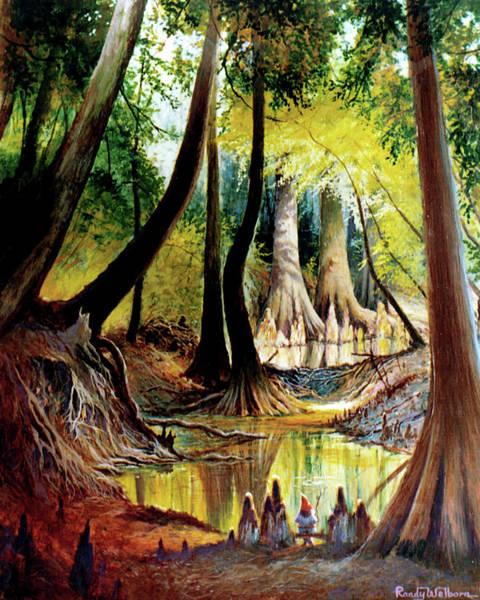 Painting - Beaver Dam On Village Creek by Randy Welborn