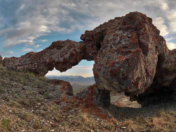 Photograph - Beaverhead Arch 1 by Leland D Howard