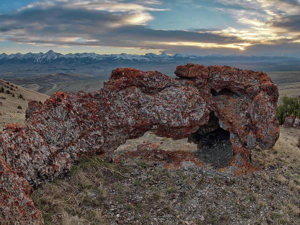 Photograph - Beaverhead Arch 2 by Leland D Howard
