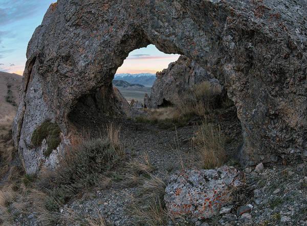 Photograph - Beaverhead Arch 3 by Leland D Howard