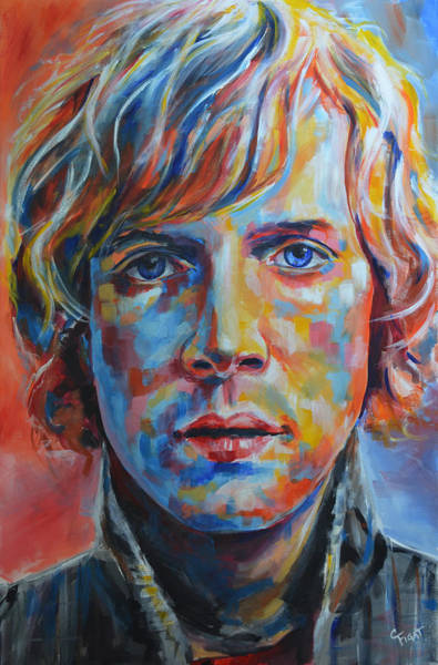 Wall Art - Painting - Beck by Chris Figat