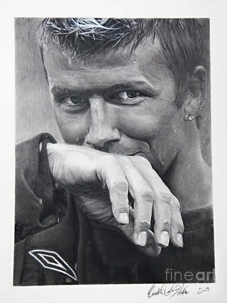 Beckham Art Print by Raymond Potts
