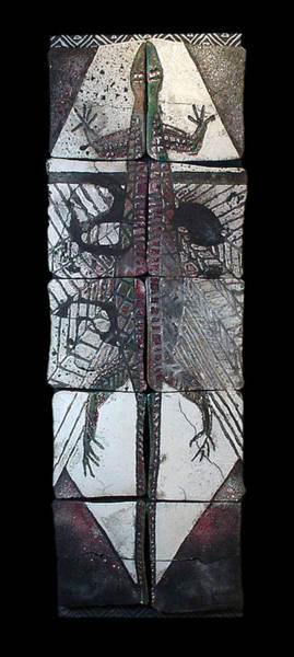 Mixed Media - Beckon by Bates Clark