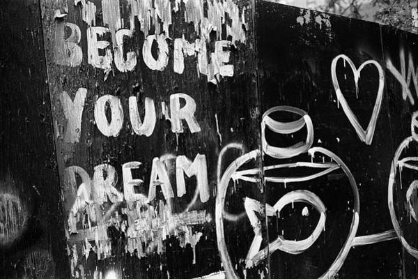 Photograph - Become Your Dream 1995h by Dave Beckerman