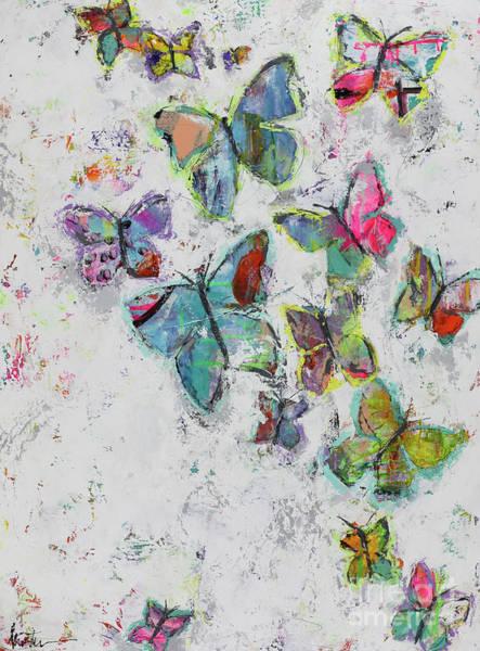 Wall Art - Painting - Becoming Free by Kirsten Reed