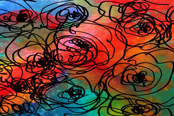 Painting - Bed Of Roses by Nikki Dalton