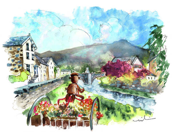 Painting - Beddgelert In Snowdonia 01 by Miki De Goodaboom