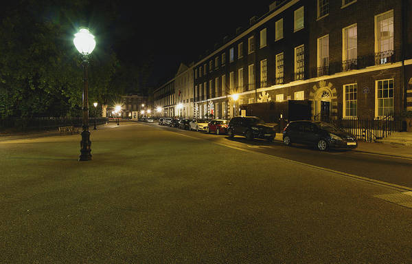 Photograph - Bedford Square London By Night A by Jacek Wojnarowski