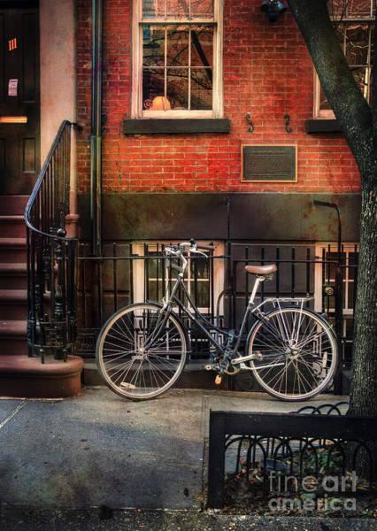 Photograph - Bedford Street Bicycle by Craig J Satterlee