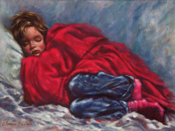 Wall Art - Painting - Bedtime by Harvie Brown
