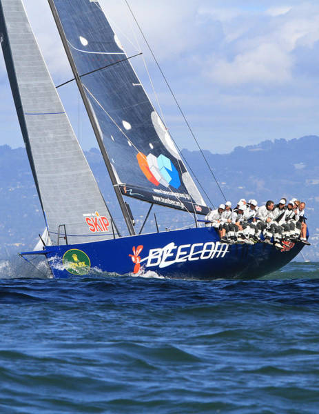 Photograph - Beecom Transpac 52 1 by Steven Lapkin