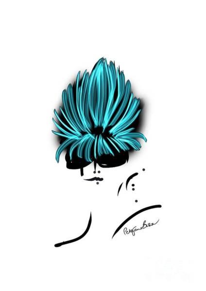 Hairdo Digital Art - Beehive Hairstyle by Peta Brown