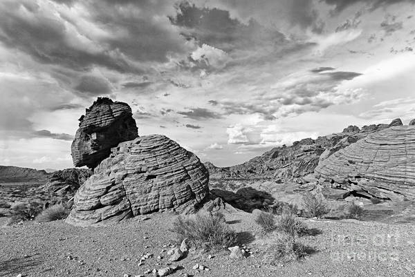 Geologic Formation Photograph - Beehive Rock Formation Under A Stormy Sky. by Jamie Pham