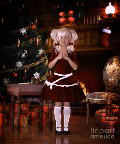 Christmas Gift Digital Art - Been Good Santa by Shanina Conway