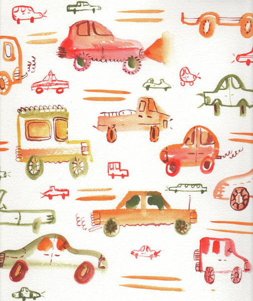 Wall Art - Painting - Beep Beep by Kristy Lankford