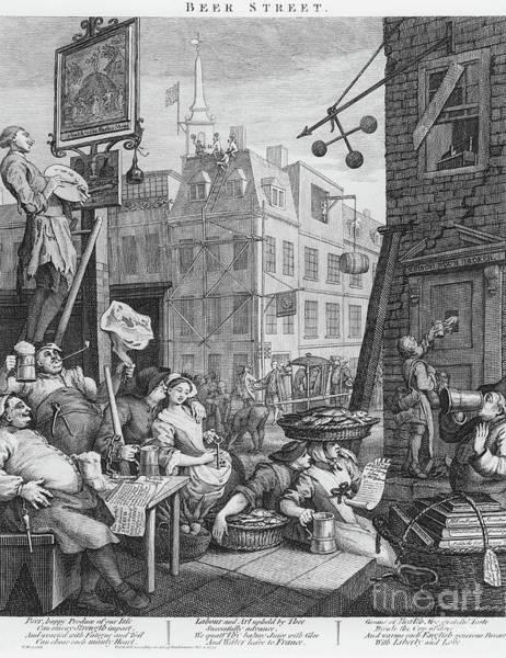 Beer Street, 1751 Art Print