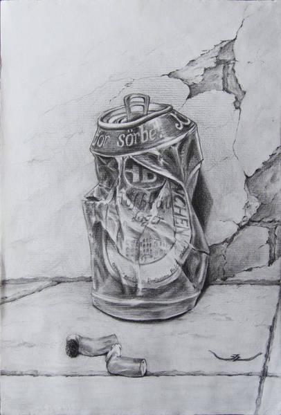 Beer Can Digital Art - Beercan by Zoltan Iles