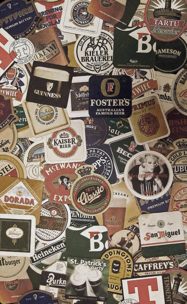 Bar Wall Art - Photograph - Beers Of The World by Nicklas Gustafsson
