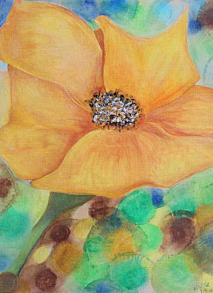 Mixed Media - Bees Delight by Norma Duch