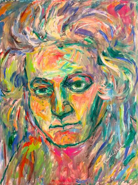 Painting - Beethoven Energy  by Kendall Kessler