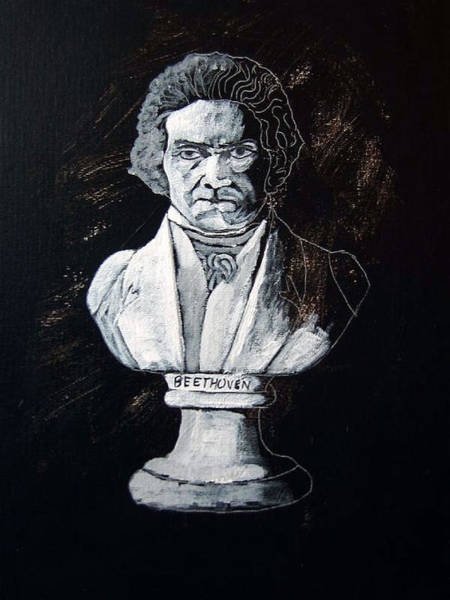 Painting - Beethoven by Richard Le Page