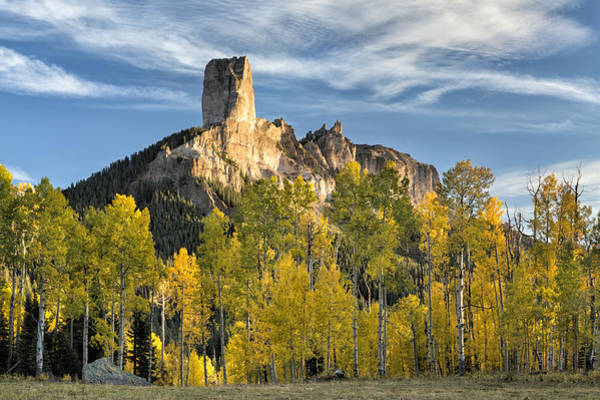 Photograph - Before Sunset At Chimney Rock by Denise Bush