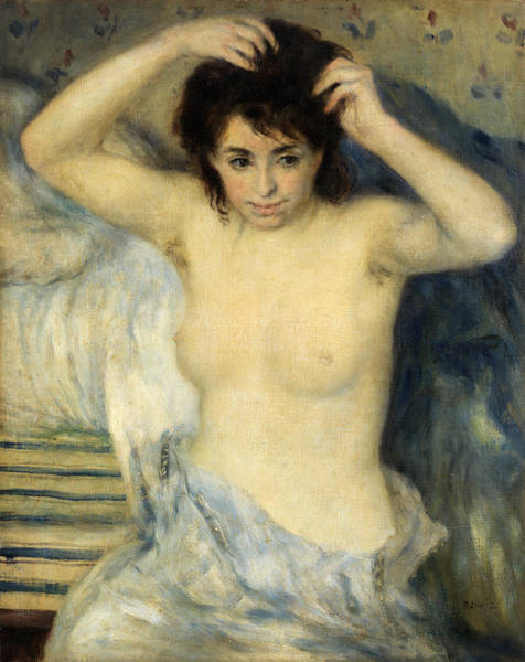Wall Art - Painting - Before The Bath by Pierre-Auguste Renoir