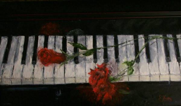 Wall Art - Painting - Before The Concert by Stephen King
