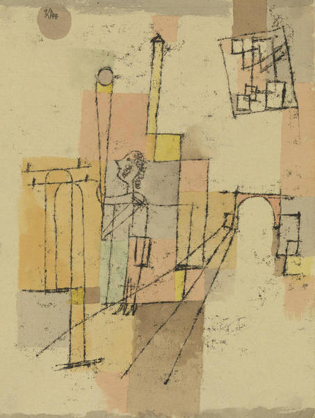 Painting - Before The Festivity by Paul Klee