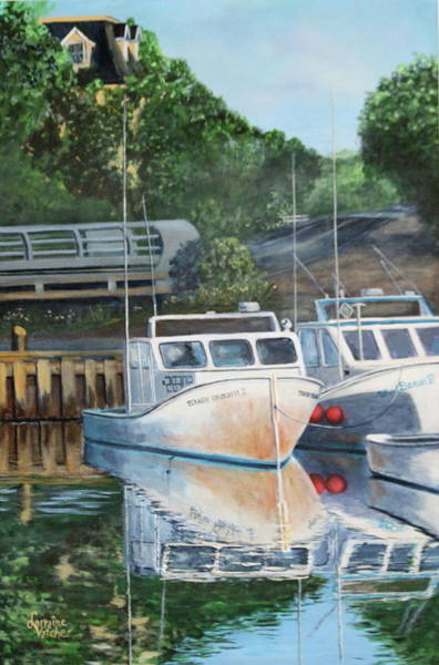 Prince Edward Island Painting - Before The Rush by Lorraine Vatcher
