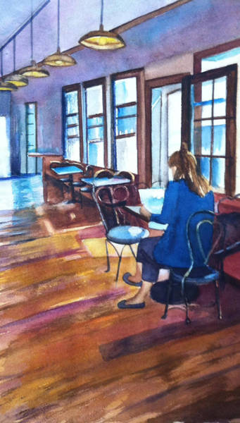 Painting - Before The Rush by Lynne Atwood